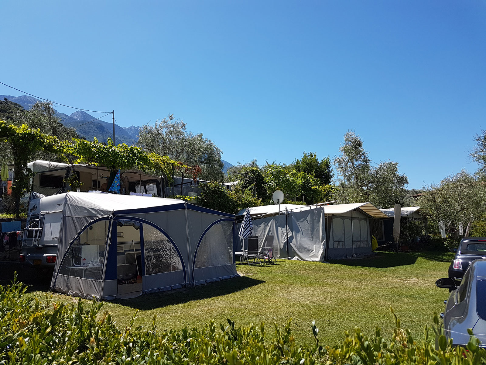 Camping Campagnola a Malcesine sul lago di Garda