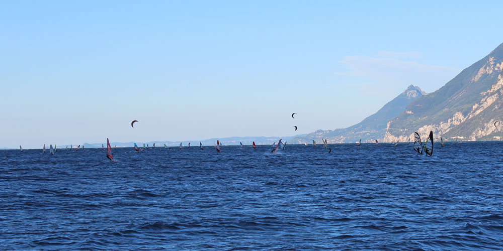 Activities and sport on Garda Lake